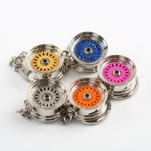 BBS Style Wheel Keychain
