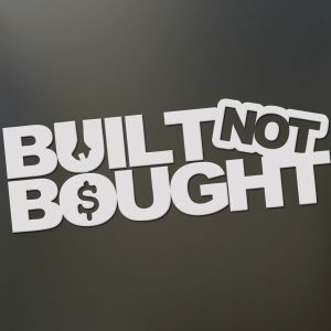 Built Not Bought V2