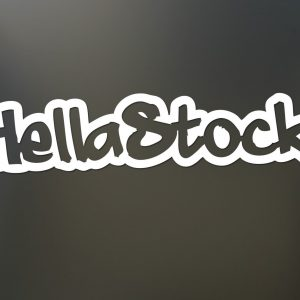 Hellastock Sticker