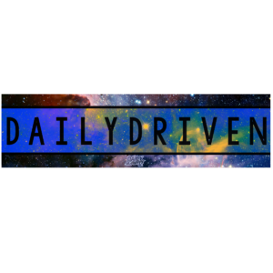 Daily Driven Galaxy Bumper Sticker
