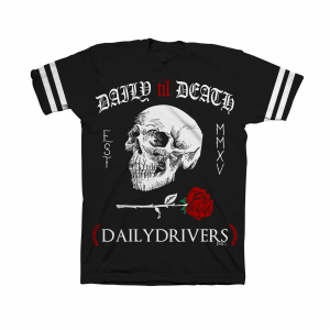 Daily Til Death Skull T-Shirt